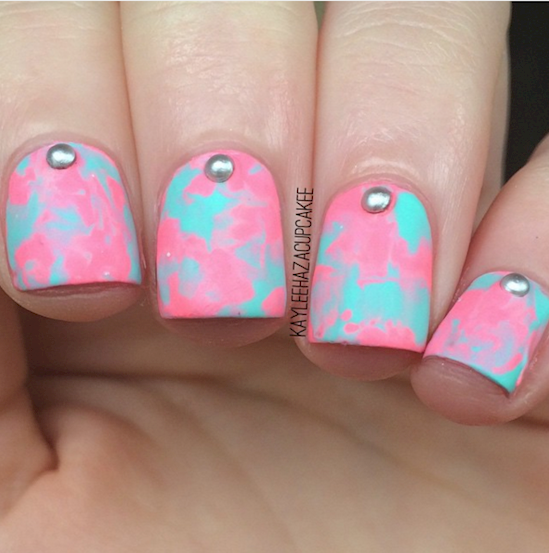 cotton candy nails 3