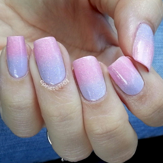 cotton candy nails 4