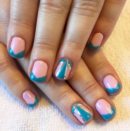 cotton candy nails 5