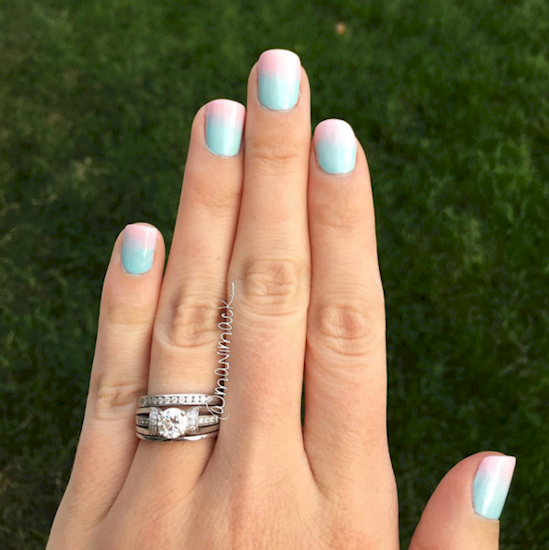 cotton candy nails 8