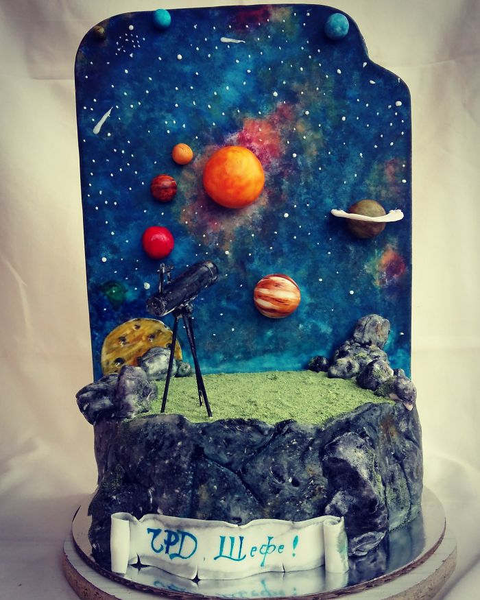 Confectioners Galaxy Space Food Treats Are Almost Too