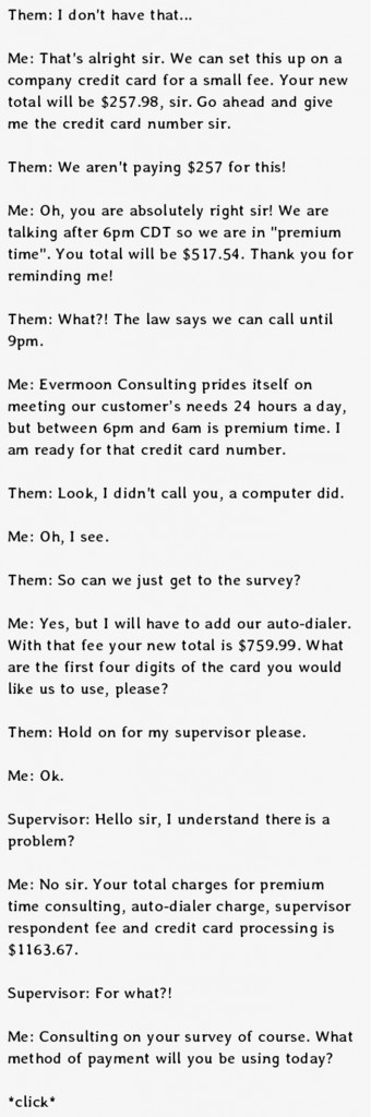 how to deal with telemarketers 2