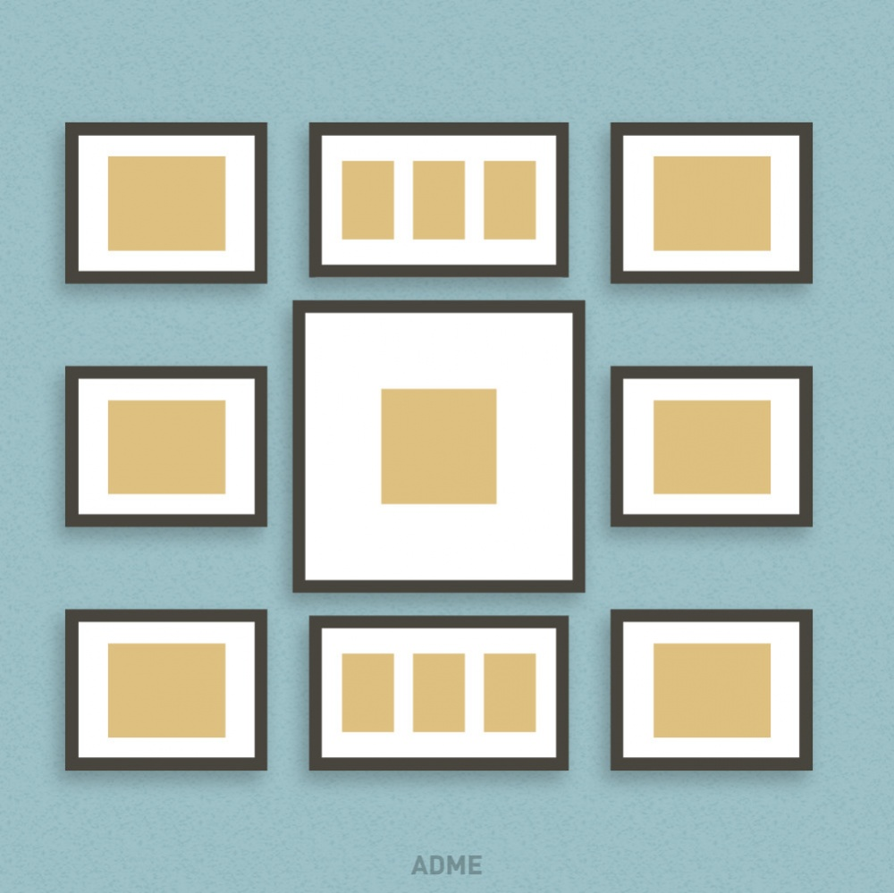ideas for hanging picture frames
