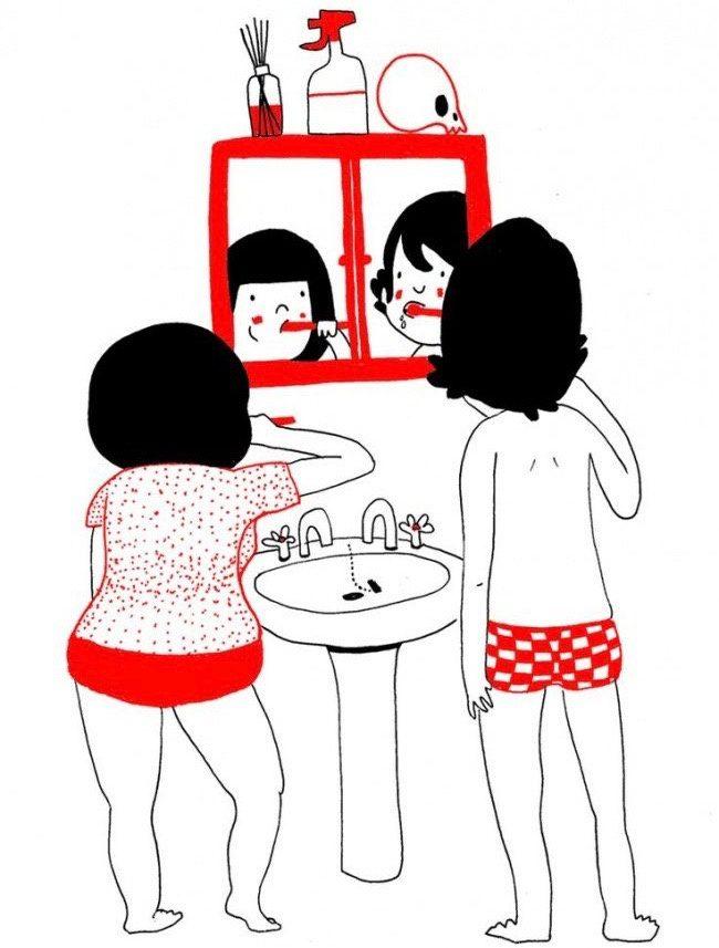 illustrations of true love