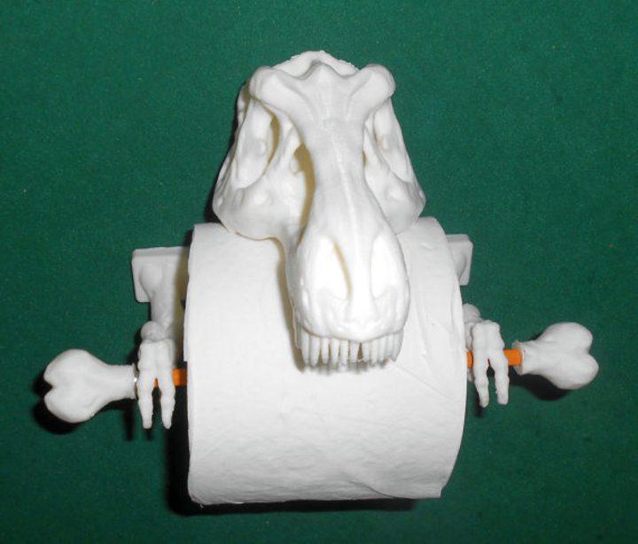 mark dinosaur egg candle 3
