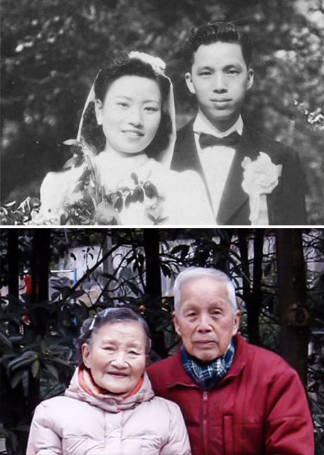mark old couple cute wedding 3