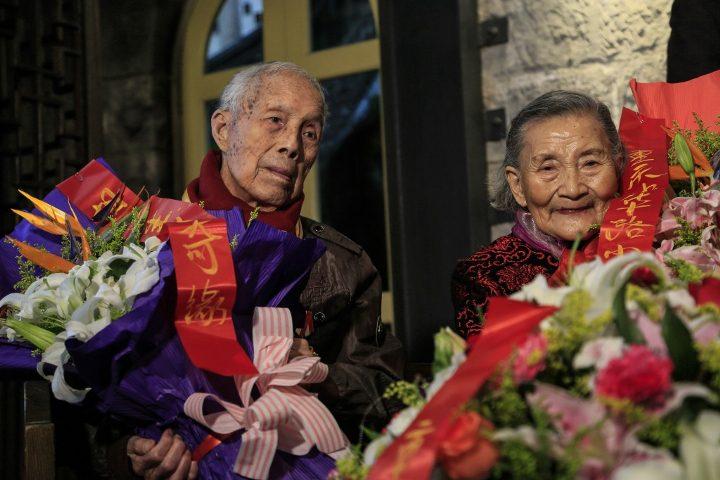mark old couple cute wedding 5