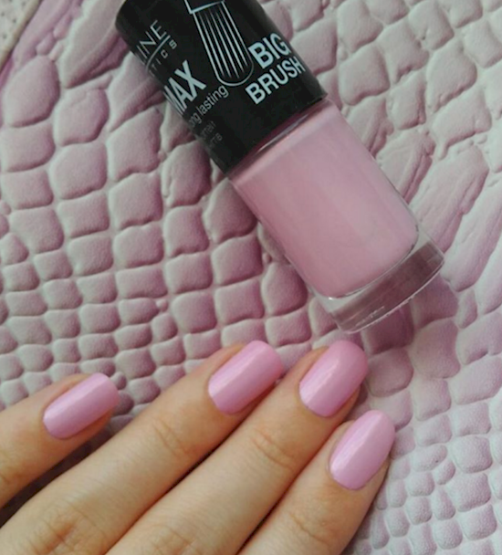 rose pink manicure ideas 10