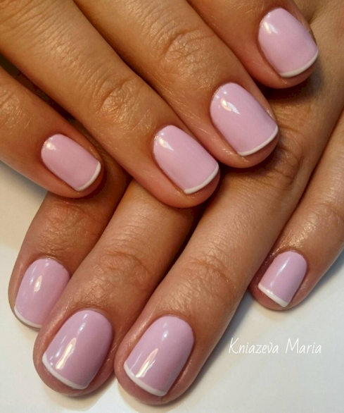 rose pink manicure ideas 6