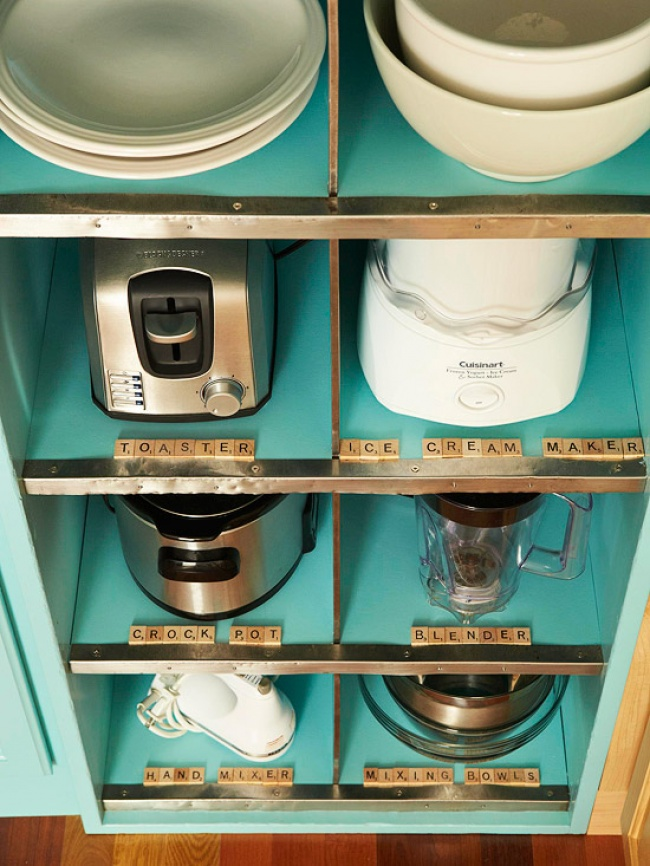 saving space in your kitchen
