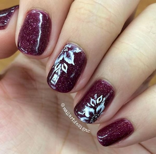 spring floral nails 7