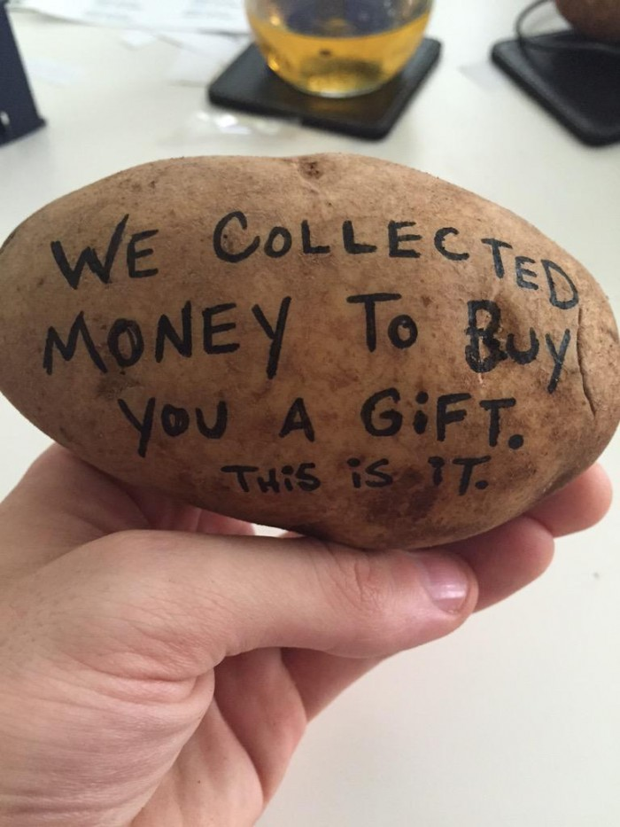 The Gift Of Potatoes 1