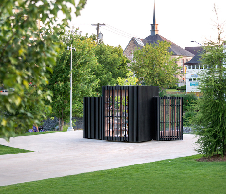 compact pod transforms book exchange 3