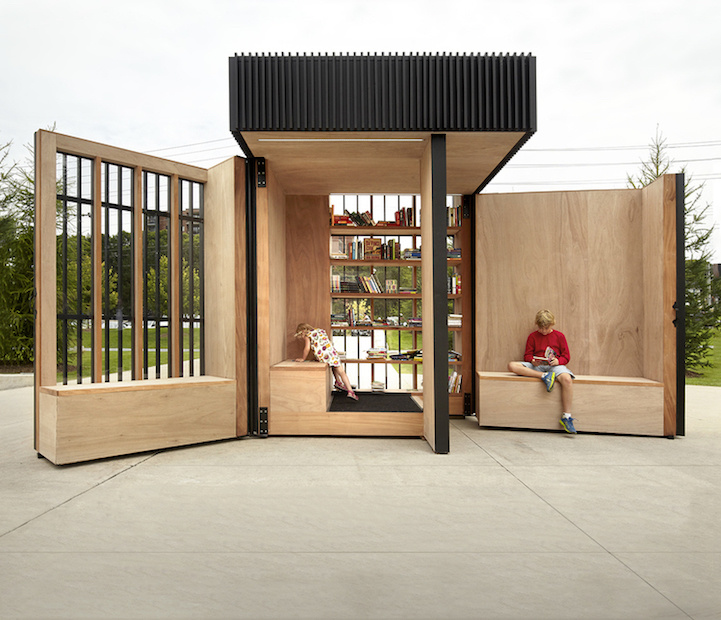 compact pod transforms book exchange 4