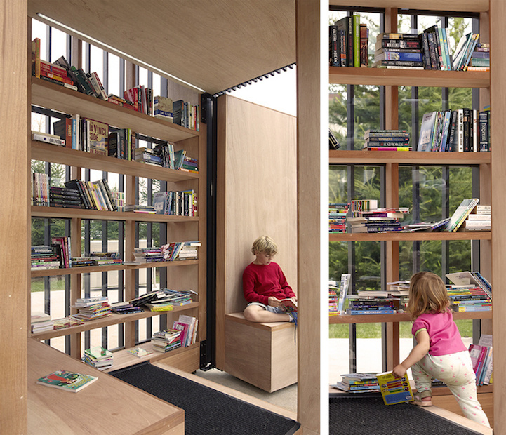 compact pod transforms book exchange 5
