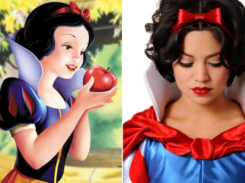 disney princesses real life look 1