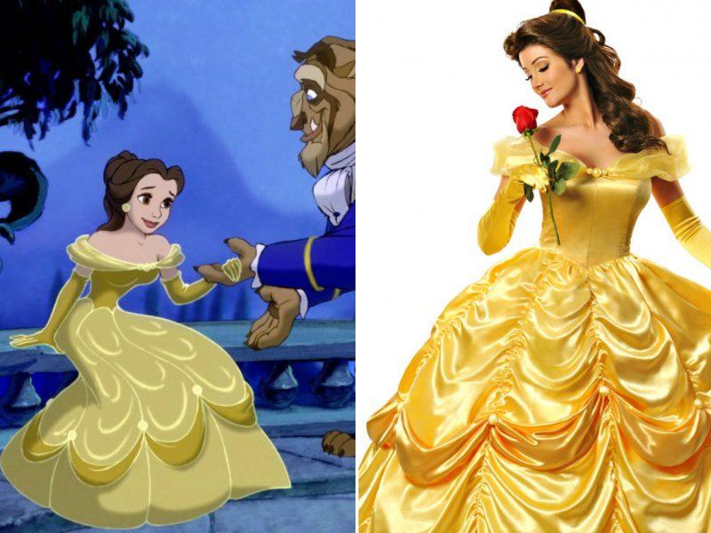 disney princesses real life look 3