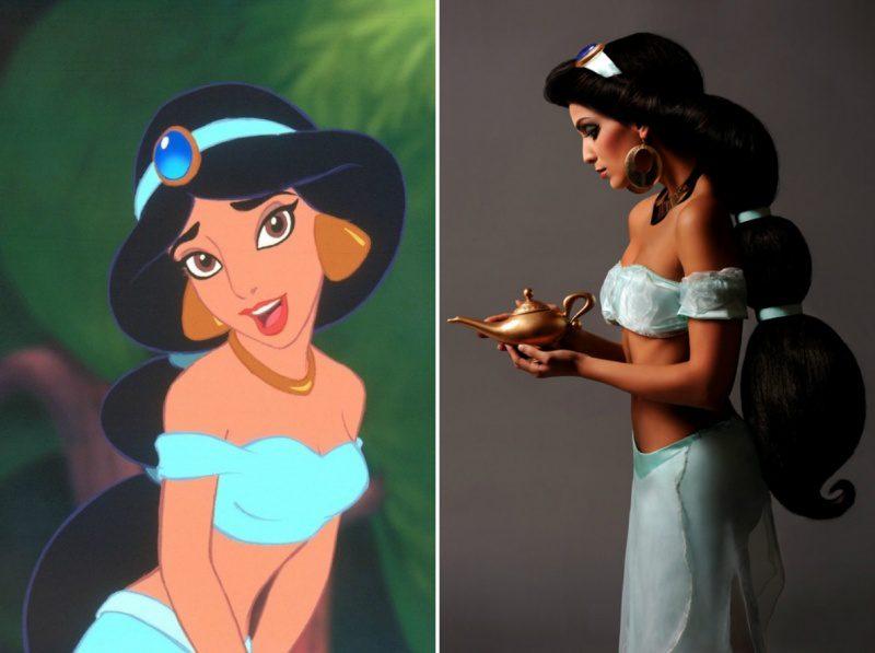 disney princesses real life look 4