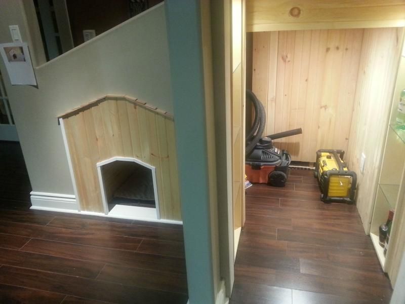 dog house under the stairs 19