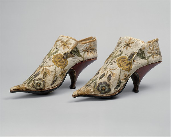 history of shoes from the metropolitan 4
