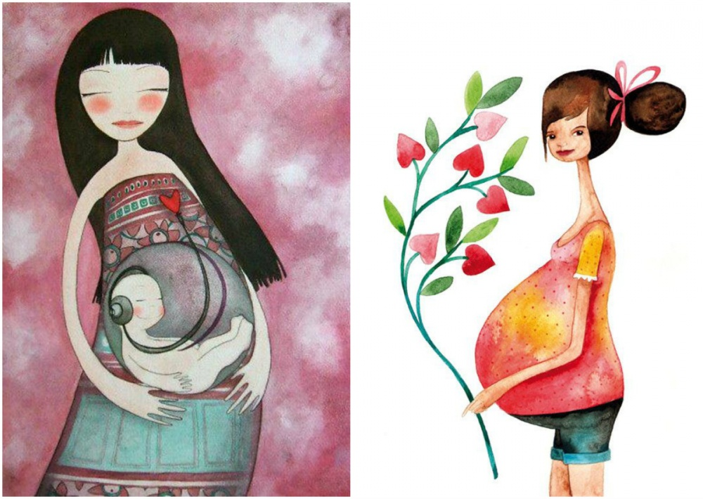 illustrations for dearest mothers 1