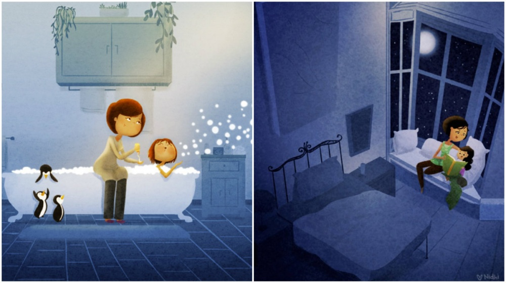 illustrations for dearest mothers 3