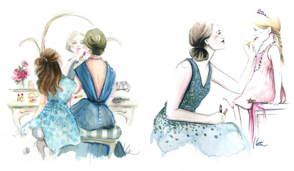 illustrations for dearest mothers 7