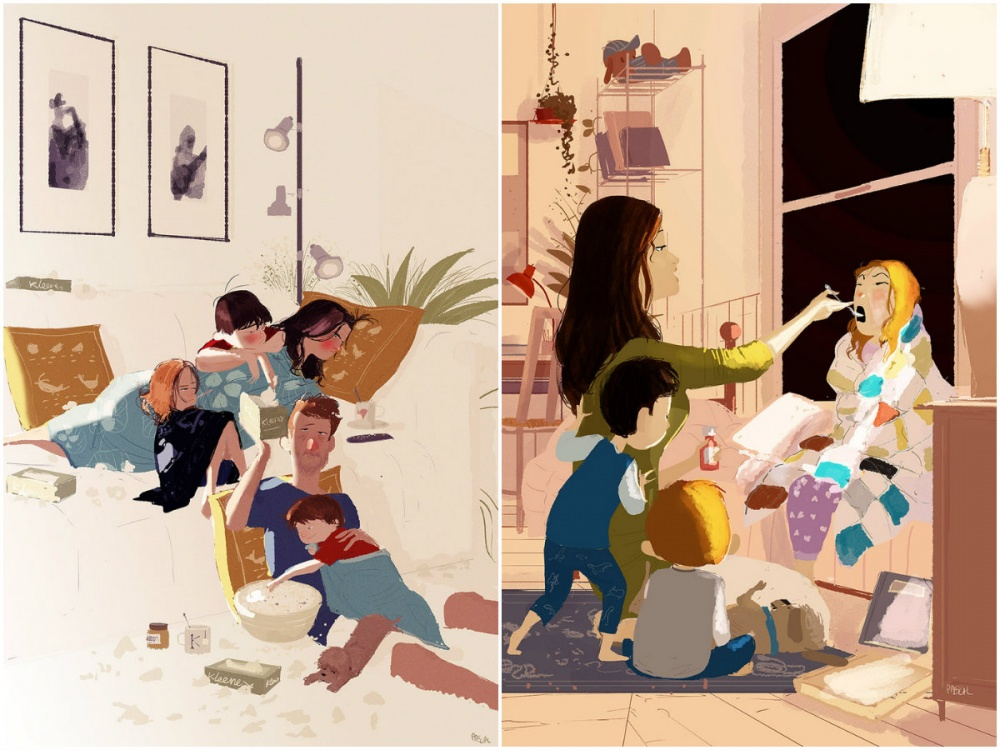 illustrations for dearest mothers 8