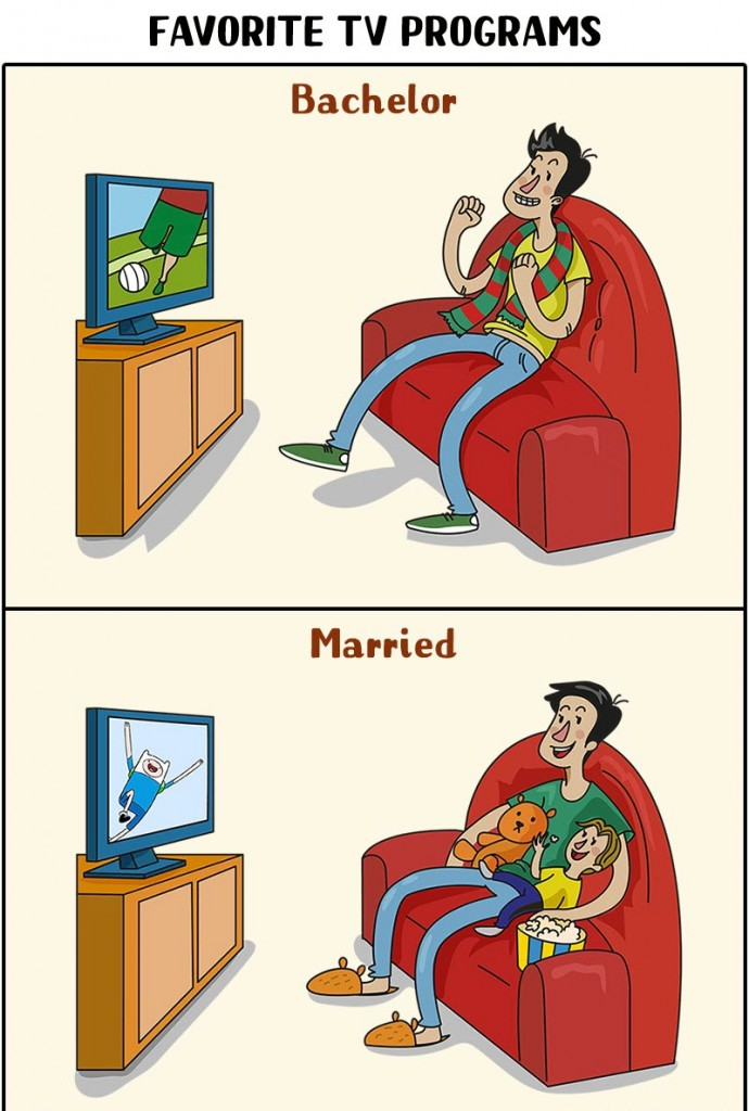 man's life changes after marriage 10