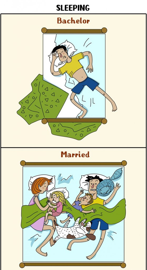 man's life changes after marriage 3