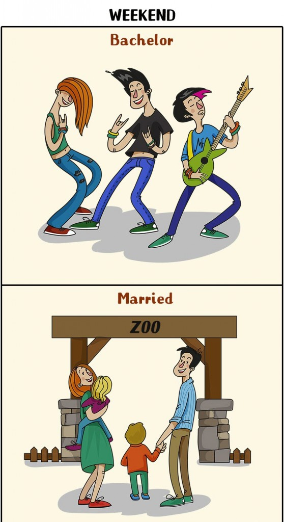 man's life changes after marriage 7