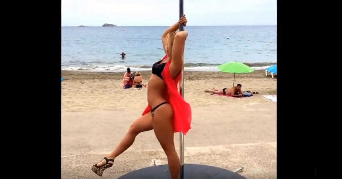 She Is Named The Best Pole Dancer In The World You Decide