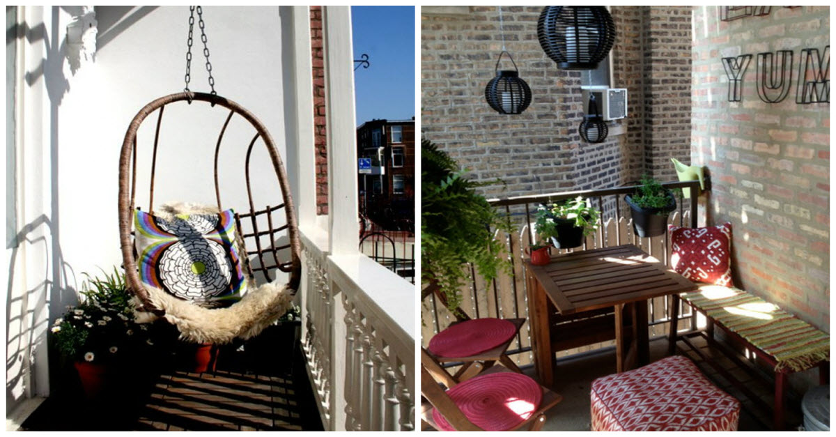 Ideas For A Small Balcony: How To Make Your Small Balcony Cozy And Stylish