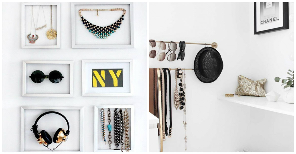 Genius Storage Ideas For Your Very Small Items