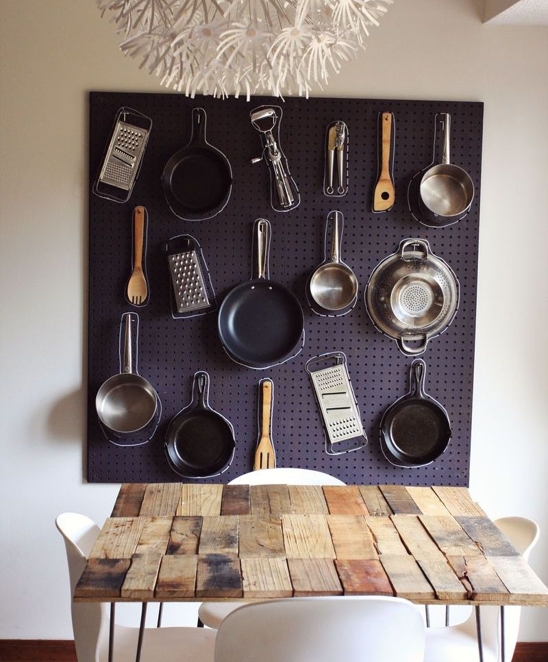 stylish uses for pegboards 1