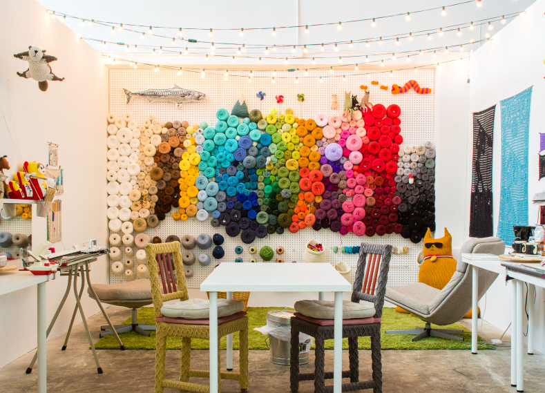 stylish uses for pegboards 10