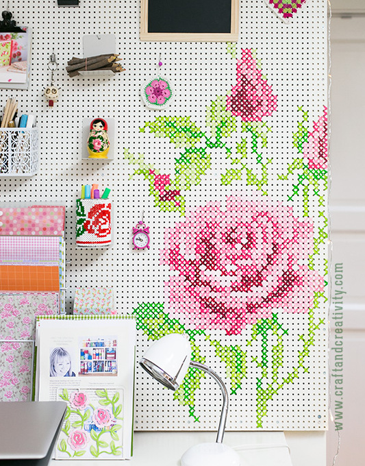 stylish uses for pegboards 4