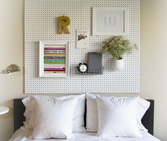 stylish uses for pegboards 8