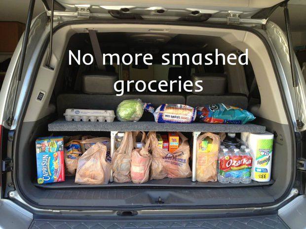 tricks in organizing a car 15