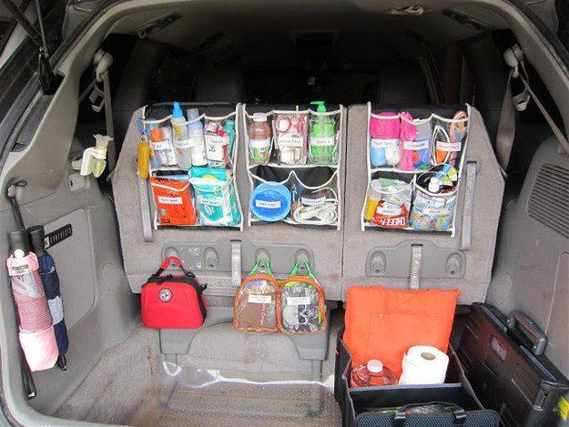 tricks in organizing a car 17