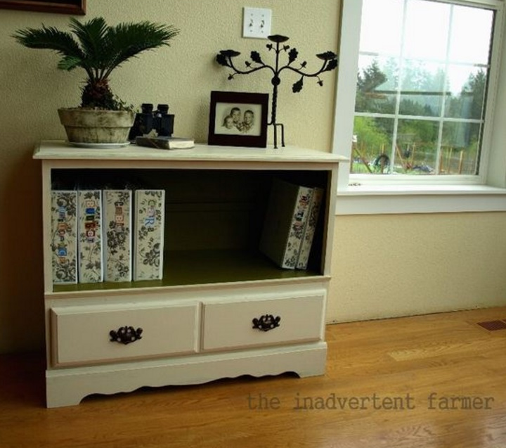 upcycle for old dresser 1
