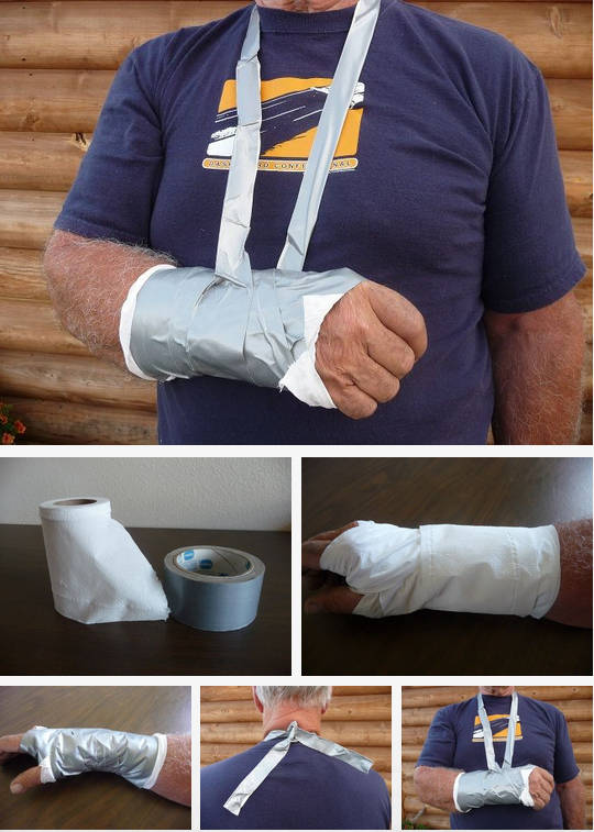 uses for duct tape 10