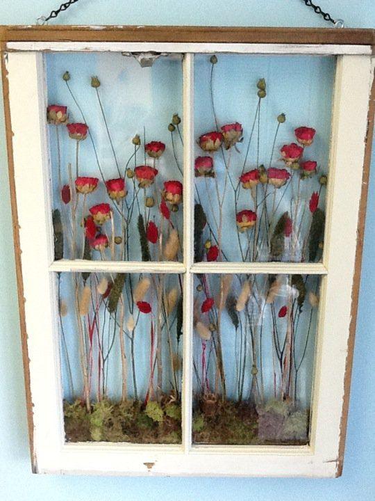 ways to repurpose dried flowers