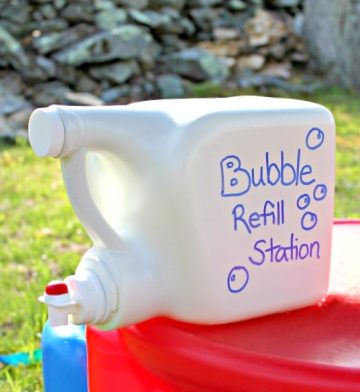 ways to reuse detergent containers 4