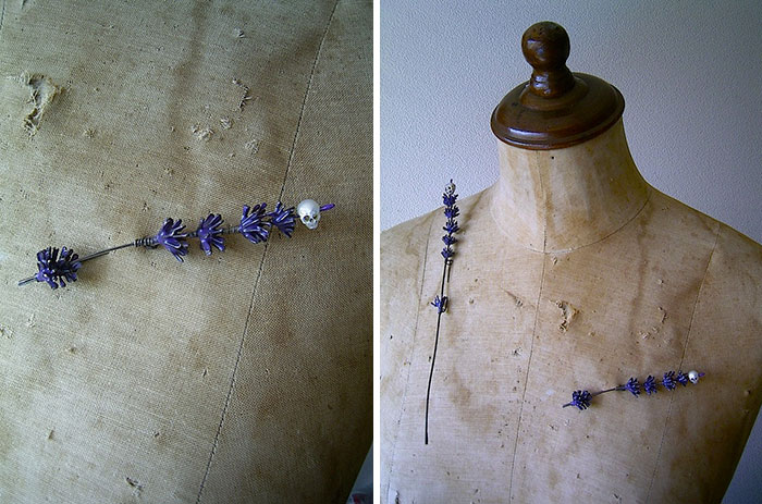 artist carves pearls into skull 6
