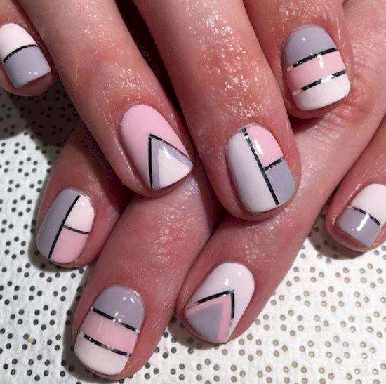 block design nails 10