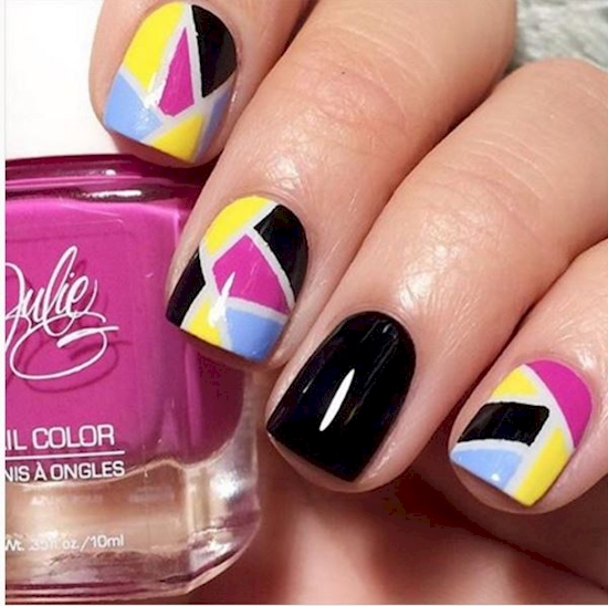 block design nails 9