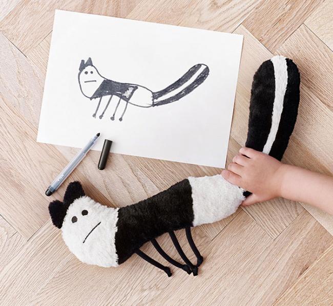 children's drawings into plush toys 3