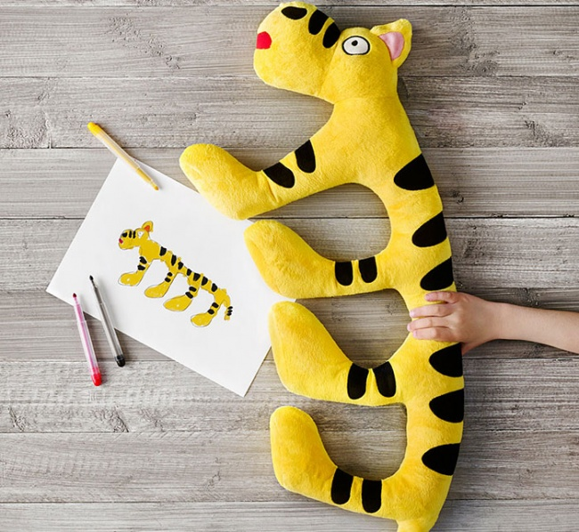 children's drawings into plush toys 6