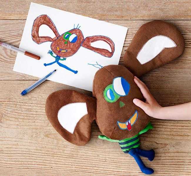 children's drawings into plush toys 7